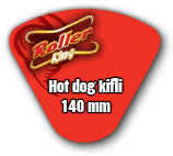 Hot dog kifli 140mm